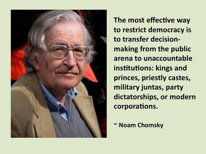 The Most Effective Way to Restrict Democracy ~ Democracy Quote