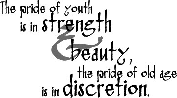 The Pride Of Youth Beauty Quote Quotespictures