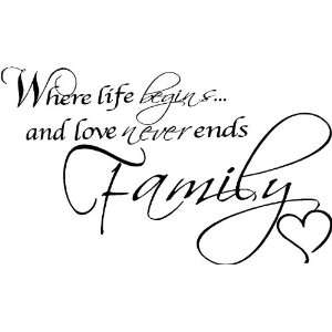 The whole life never endless love to my family ~ life love for family ~ Family Quote