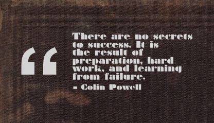 There are No Success to Success ~ Failure Quote