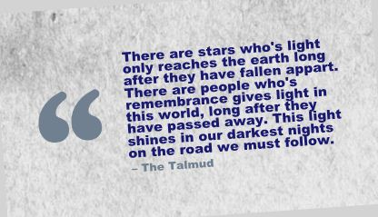 There are Stars Who's light only reaches the Earth long after they have fallen appart ~ Earth Quote