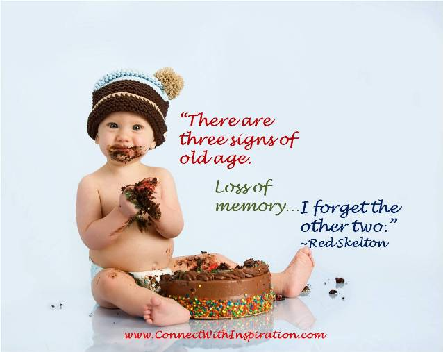 There are three Sign of old age