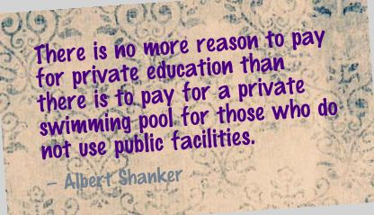 There Is no More Reason to Pay for Private Education ~ Education Quote