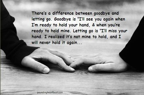 Break up goodbye quotes