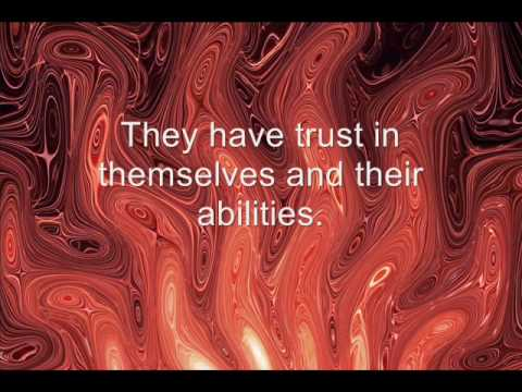They Have Trust In Themselves and their abilities ~ Confidence Quote