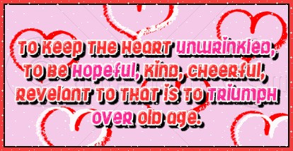 To Keep the Heart ~ Age Quotec