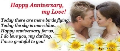 Today there are More Birds Flying ~ Anniversary Quote