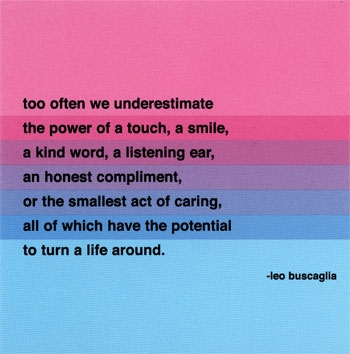 Leo Buscaglia Quotes About Life