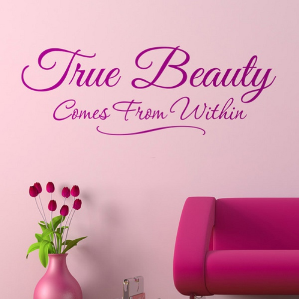 Beauty Quotes Pictures: True Beauty Comes From Within