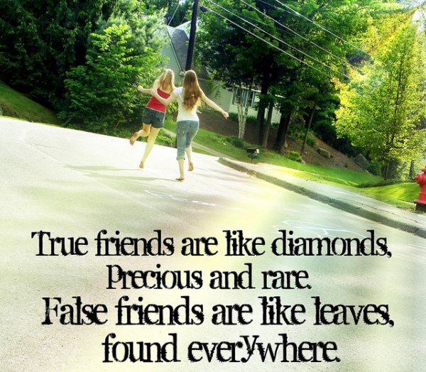 True Friends Are Like Diamonds ~ Best Friend Quote