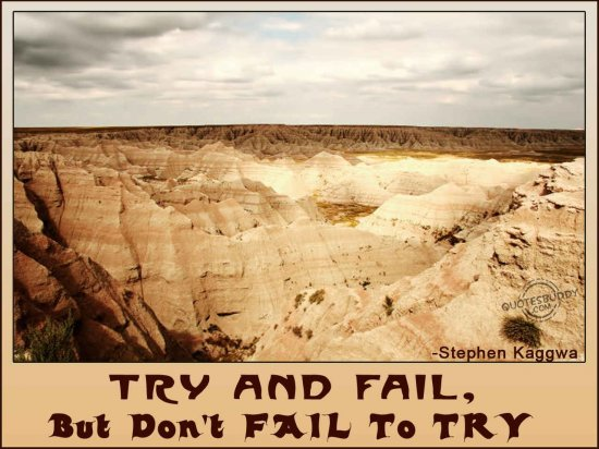 Try and Fail Quotes Inspirational