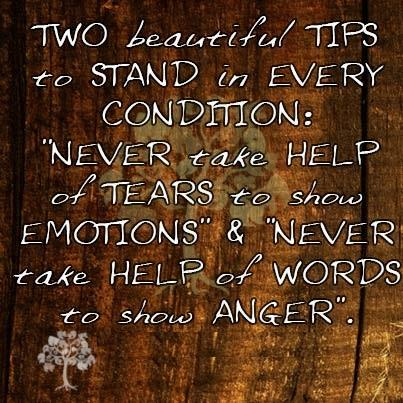 Two Beautiful Tips to Stand in Every Condition