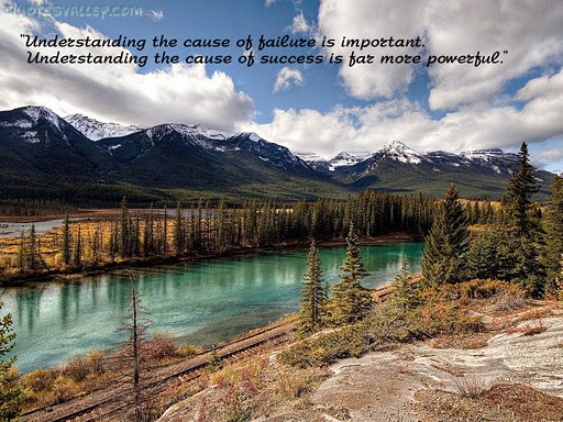 Understanding The Cause Of Success Is Far Most Powerful ~ Failure Quote