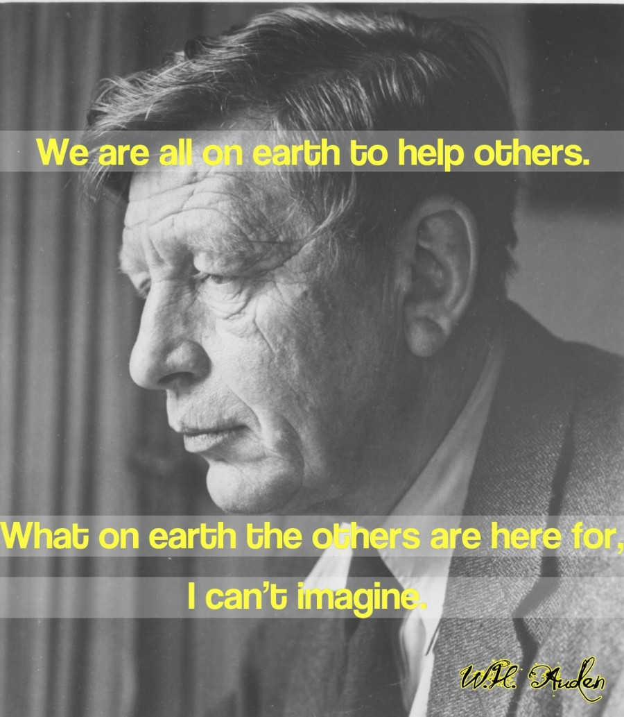 We are all on Earth to help Others ~ Earth Quote