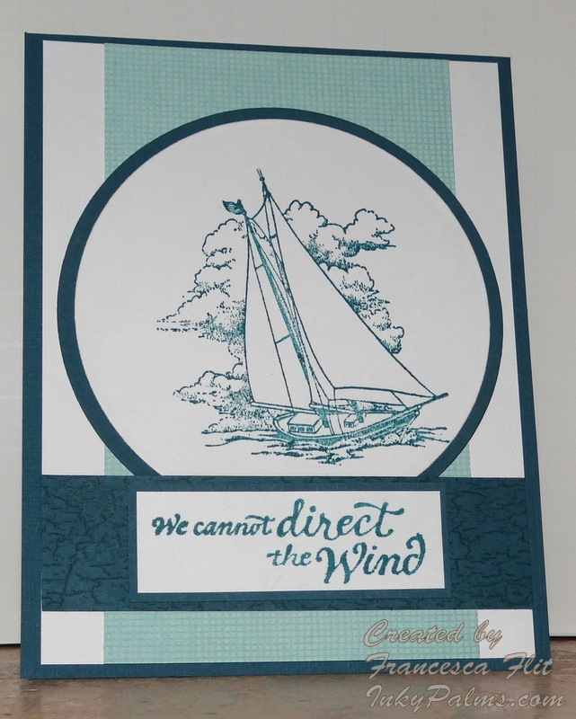 We Cann't direct the Wind ~ Challenge Quote
