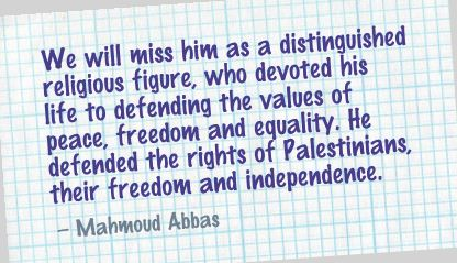 We Will Miss Him as a Distinguished religion Figure ~ Freedom Quote
