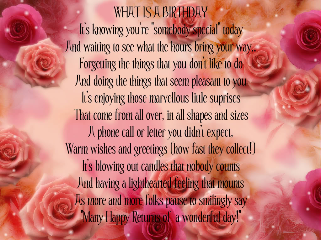 What is a Birthday ~ Birthday Quote