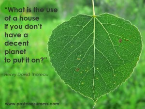 """What Is the use of a house If You Don't Have a Decent Planet to Put It On!""~ Environment Quote"