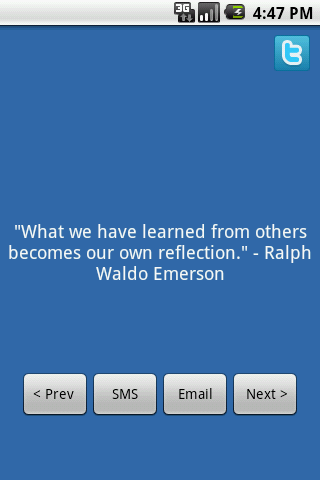 What We Have Learned from others becomes our own feflection ~ Challenge Quote