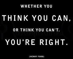 Whether you Think you Can ~ Anger Quote