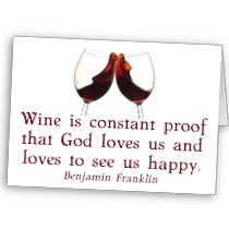 Wine Is Constant Proof