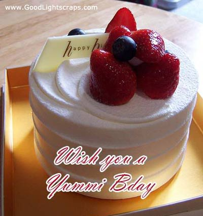 Wish You a Yummi B'day ~ Birthday Quote