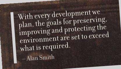 With Every Development we paln,the goals for preserving ~ Environment Quote