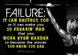 Work Even Harder to become the Winner you know you are ~ Exercise Quote
