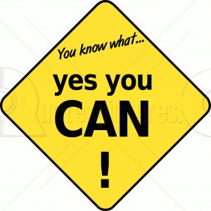 Yes you Can ! ~ Age Quote