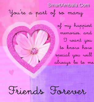 You Are A Part Of many of My happiest Memories ~ Best Friend Quote