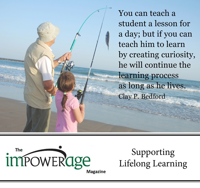 You Can Teach a Student a Lesson for a Day ~ Education Quote