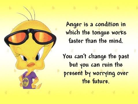 You Can't Change the Past But You Can ruin the Present by Worrying Over the Future