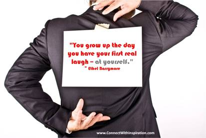 You Grow up the day you ~ April Fool Quote