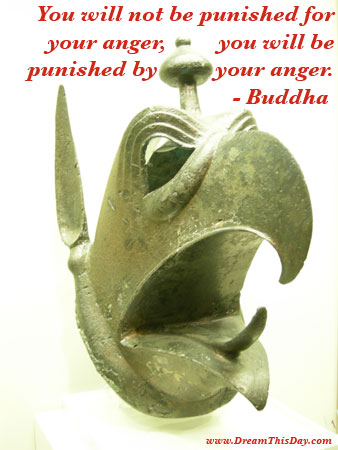 You Will Not be Punished for Your Anger ~ Anger Quote