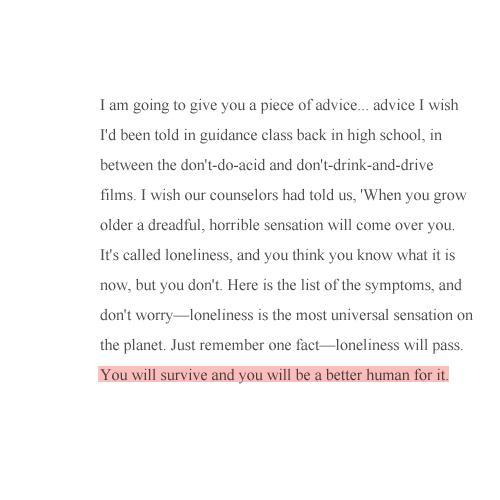 You Will Survive and you will be a better human for it