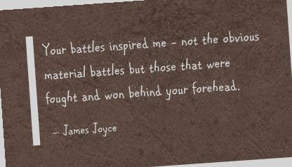 Your battles Inspired Me