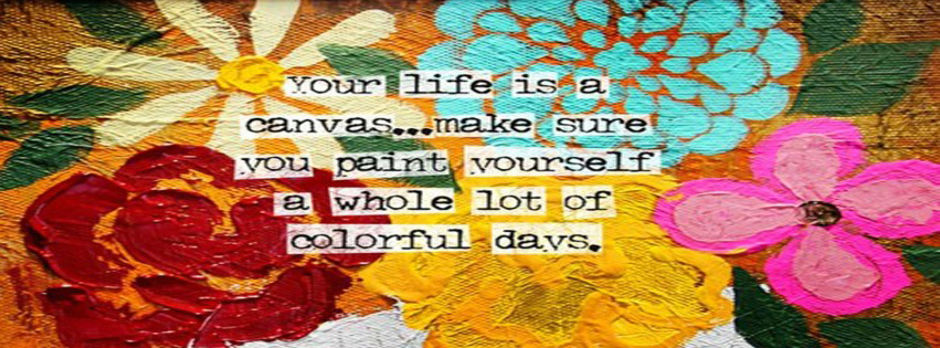 Your life is a Canvas ~ Astrology Quote