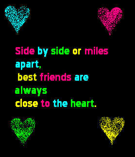 Best Friends Are Always Close To Heart Friendship Quote