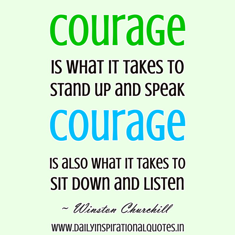 "courage to stand again Success is not final, failure is not fatal: it is the courage to continue that counts   courage tells you, ""it's ok, start again,"" after that impulse purchase  i stand  back up and affirm that it is possible, and dooable, to get rid of this."