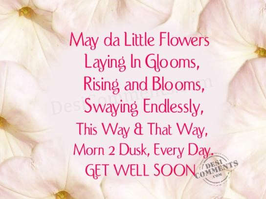 Get Well Soon Comment