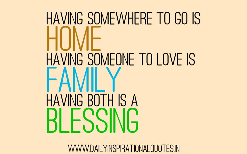 Inspirational Quotes About Family quotes.lol-rofl.com