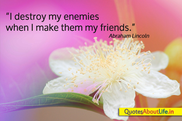 Friend Of My Enemy Quote : Make us enemies of every people on earth by lucan like