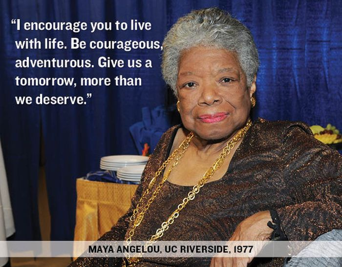 """""""I Encourage You to live with life.Be Courageous adventurous.Give us a tomorrow more than we deserve"""" ~ Inspirational Quote"""