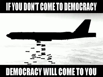 If You Don't Come To Democracy,Democracy Will Come To You ~ Funny Quote About Democracy