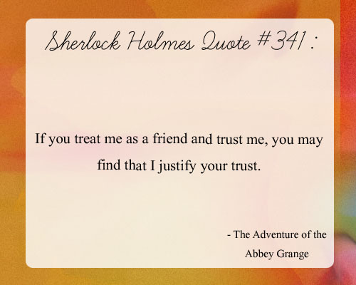 Sayings on friendship and trust : If i trust you quotes quotesgram