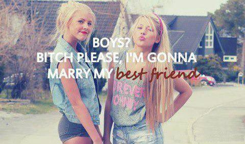 I'm Gonna Marry My Best Friend ~ Friendship Quote   Quotespictures.com