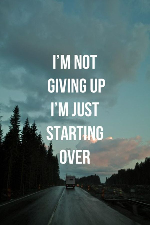 im giving up on life quotes - photo #3