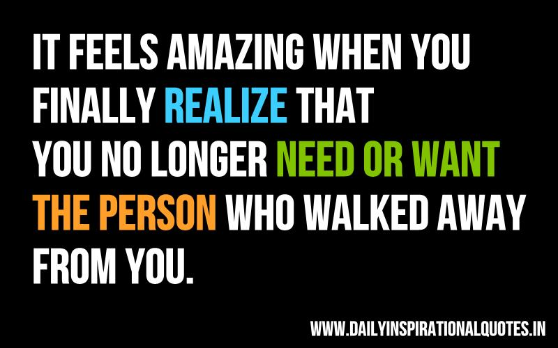 Quotes About An Amazing Person: When You Finally Realize Quotes. QuotesGram