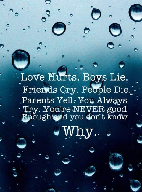 Quotes About Wanting To Cry Love Hurts.Boys Lie.Fr...