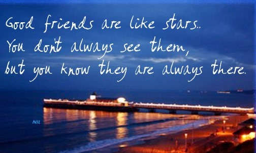 My Good Friends Are Like Stars